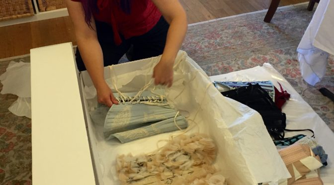 Textile Conservator in the house